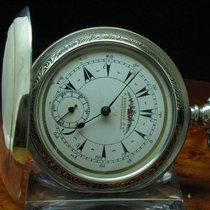 K. Serkisoff & Co 800 Silber Savonette Osmanische Taschenu...