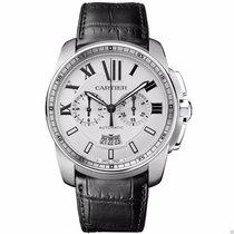 Cartier Calibre de Cartier Chronograph W7100046 Stainless...