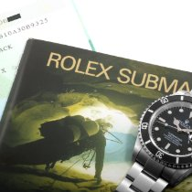 Rolex 2002 SS Submariner UNPOLISHED Box-Papers-Tags-Manuals-An...