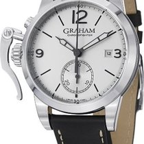 Graham Chronofighter 1695 Automatic Chronograph Silver Dial...