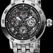 Chronoswiss Timemaster Chronograph Skeleton Steel Strap...