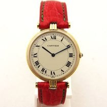 Cartier vendome trinity tricolor lady in oro 18 kt750 orologio...