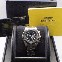 Breitling Superocean Chrono A13341 Stainless Steel Box &...