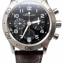 Breguet Type XX Transatlantique Chronograph Black Dial...