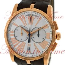 Roger Dubuis Excalibur 42mm Chronograph, Silver Dial - Rose...