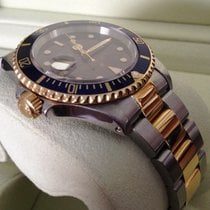 Rolex Oyster Submariner Gold Steel Bleu Dial 40 mm (1997)