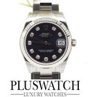 Rolex Datejust Diamond Dial Diamanti Oyster Perpetual 31mm