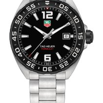 TAG Heuer FORMULA 1 QUARTZ 41MM BLACK DIAL,STEEL BRACELET