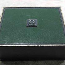 Omega vintage de ville watch box green leather
