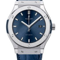 Hublot Classic Fusion 42 Mm Titanium Blue