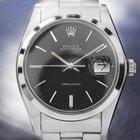 Rolex Oysterdate Precision 6694 Black Dial Watch Dn169
