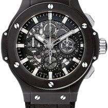 Χίμπλοτ (Hublot) Aero Bang 44mm Black Magic Ceramic Watch