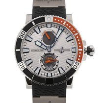 Ulysse Nardin Marine Diver 45 Automatic Power Reserve Silver Dial