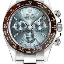 Rolex Cosmograph Daytona Platinum 116506LN Ice Blue Baguette...
