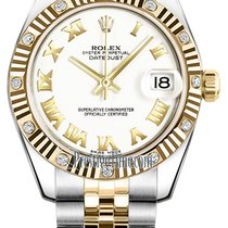 Rolex Datejust 31mm Stainless Steel and Yellow Gold 178313...