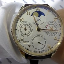 IWC Portuguese Perpetual Calendar Moonphase Pink Gold - IW5022