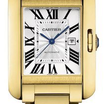 Cartier Tank Anglaise MEDIUM 18kt Yellow Gold AUTHENTIC w5310015