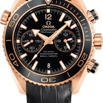 Omega Seamaster Planet Ocean Chronograph 18K Rose Gold Automatic