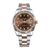 Rolex Datejust II 41 126331 Chocolate Diamond Dial