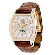 Girard Perregaux Richeville 2722 Men's Watch in 18K Rose Gold