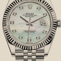 Rolex Datejust 41 mm, steel and white gold  ( NEW MODEL )