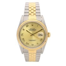 Rolex Datejust 16233 - Gents Watch - Champagne Dial - 1999