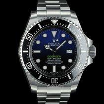Rolex SEA-DWELLER DEEPSEA BLUE 116660 FULL SET NEVER WORN