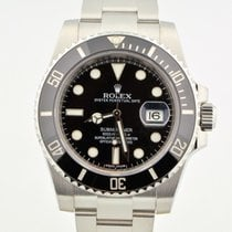 Rolex Submariner Stainless Steel Black Ceramic 116610 Random...
