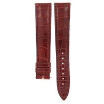 Jaeger-LeCoultre Crocodile Bordeaux Leather Strap 19mm/16mm