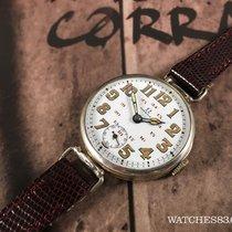 Omega Antiguo reloj de cuerda oficial de trinchera Omega 1914...