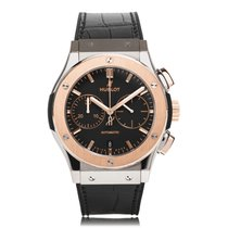 Hublot Classic Fusion Titanium Rose Gold Mens Watch 521.NO.118...