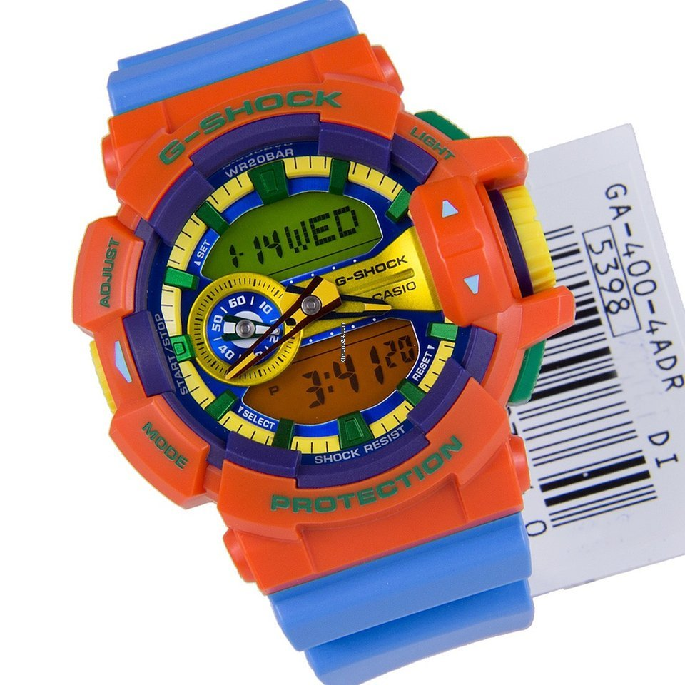 Casio Reloj Hombre G Shock Crazy Rotary Ga 400 4a For 135 400gb 1a9 Sale From A Seller On Chrono24