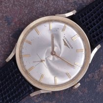 Longines 1960 Vtg 34mm 14k Solid Gold Cyclone Dial and Bezel...