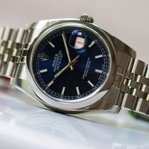 Rolex OYSTER PERPETUAL DATEJUST 36mm blue dial