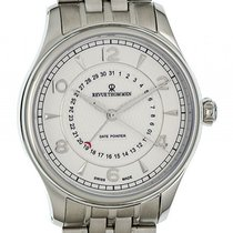 Revue Thommen XLarge Date Pointer Stahl Automatik 42mm