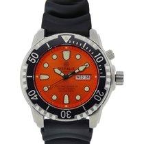 Deep Blue Protac Diver 1k Diving Watch 1000mwr Helium Valve...