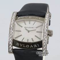 宝格丽 (Bulgari) Assioma AAW36G Ladies Diamond Hour MOP Dial