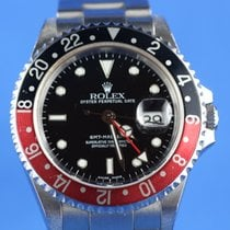 Rolex GMT Master 2 YEAR 2004 SEL NO HOLE