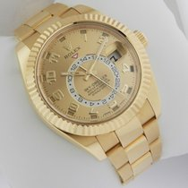 Rolex Sky Dweller 326938 Oyster Perpetual Yellow Gold Pre-Owned
