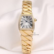Cartier La Donna WE60040H 18k Yellow Gold Diamond Bezel