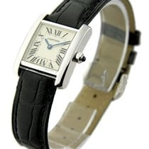 Cartier W5001256 Tank Francaise - Small Size - White Gold on...