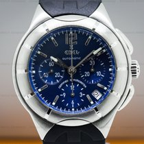 Ebel 1214254 Type E Chronograph SS Blue Dial (26211)