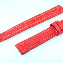 Breitling Band 15mm Croco Red Roja Strap Correa Ib15-40
