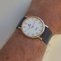 Rolex Cellini ref. 5112 gold white porcelain dial+gold buckle