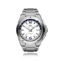 IWC Schaffhausen Ingenieur Steel White Dial Mens Watch IW324404