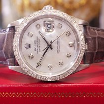 ロレックス (Rolex) Oyster Perpetual Datejust Diamonds Mother-of-pea...