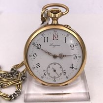 Longines vintage pocket watches GRAND PRIX PARIS 1900 gold 18cts