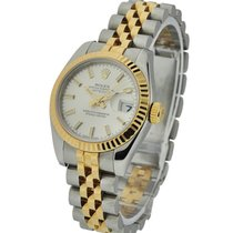 Rolex Used 179173_used_silver_stick Ladys 2-Tone DATEJUST...