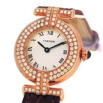Cartier 18K Rose Gold w/ Custom Diamond Setting