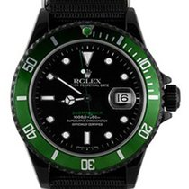 Rolex Used 16610_pvd Oyster Perpetual Submariner Date - Black...